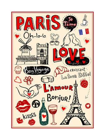 Paris - A City Of Love And Romanticism Prints by Anastasiya Zalevska