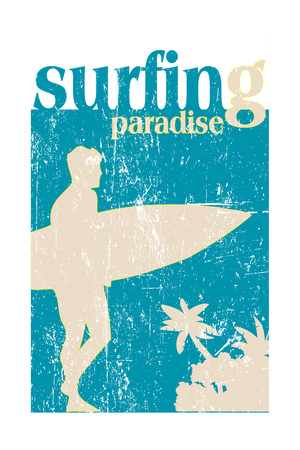 Surfing Poster Prints by  kots