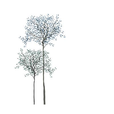 Trees Background Plakater af  pashabo