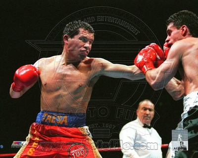 Julio Caesar Chavez boxing photo poster print