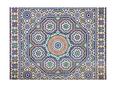 Oriental Mosaic In Morocco Poster by  p.lange