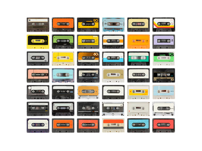 An Old Audio Cassette Prints by  dubassy