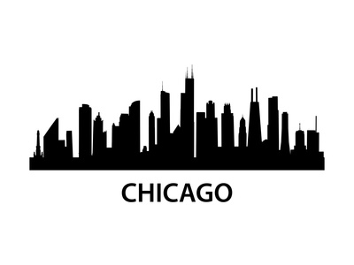 Skyline Chicago Posters by  unkreatives