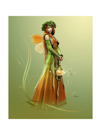 Deep Forest Elf Prints by Atelier Sommerland