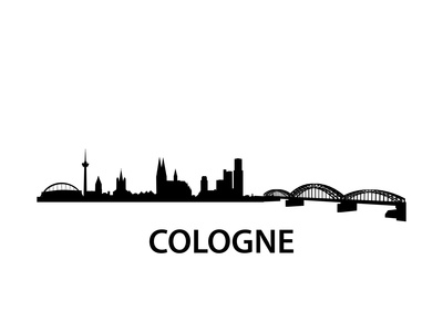 Skyline Cologne Prints by  unkreatives