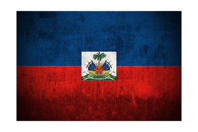 Grunge Flag Of Haiti Posters by  Gilmanshin