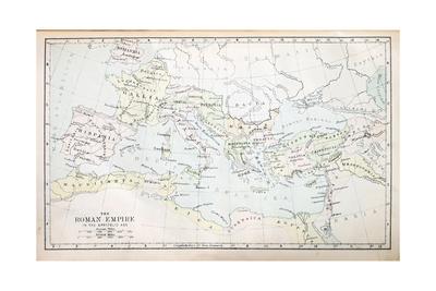 Roman Empire Map Prints by  pancaketom