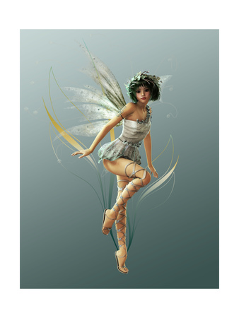 Little Fairy Posters by Atelier Sommerland