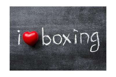 Love Boxing Art by Yury Zap