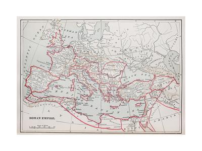 Roman Empire Map Posters by  pancaketom