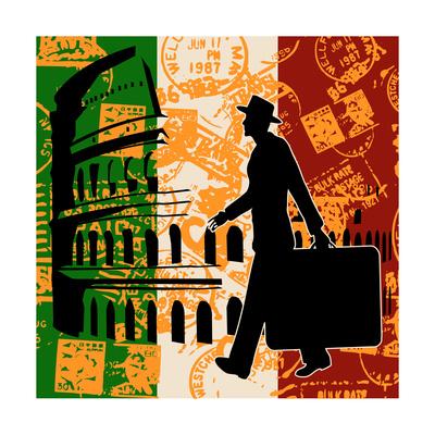 Italian Travel Flyer Posters by  Petrafler