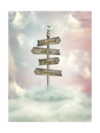 Fantasy Signage Kunst af  justdd