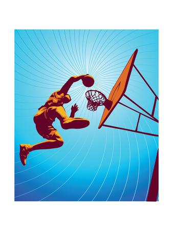 Basketball3Drms Print by Tonis Pan