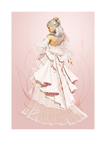 Rose Bride Art by Atelier Sommerland