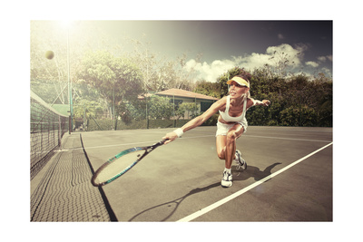 Tennis Art by  ersler