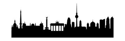 Berlin Silhouette Prints by  HAS-Vektor