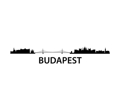 Skyline Budapest Posters by  unkreatives