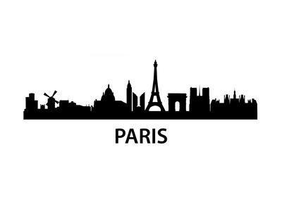 Skyline Paris Prints by  unkreatives