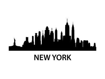 Skyline New York Posters by  unkreatives