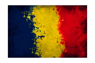 Romanian Flag Posters by igor stevanovic