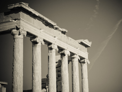 Greek Columns Photographic Print by  javarman