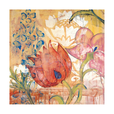 Mandarin Garden IV Giclee Print by Kate Birch