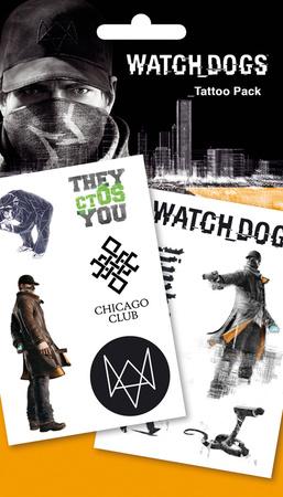 Watchdogs - Aiden Tattoo Pack Tatuaggi temporanei