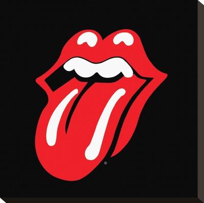 Rolling Stones-Lips キャンバスプリント
