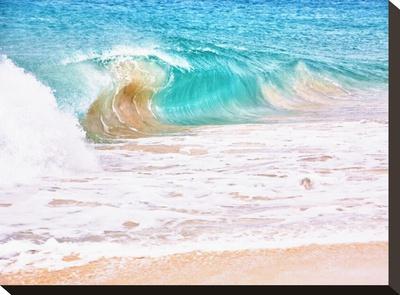 Waves Stretched Canvas Print by Tatiana Lopatina