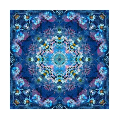 Ocean Flower Mandala Prints by Alaya Gadeh