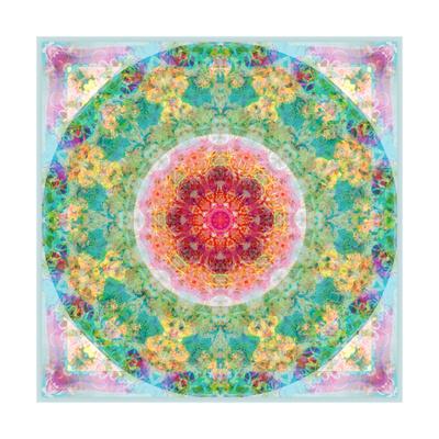 Eternal Circle Flower Mandala Art by Alaya Gadeh