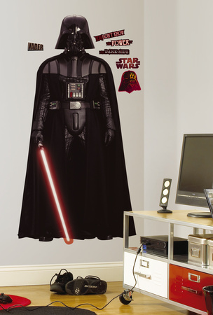 Star Wars Classic Vadar Peel & Stick Giant Wall Decal Wall Decal
