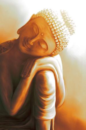 Resting Buddha II Prints by Christine Ganz
