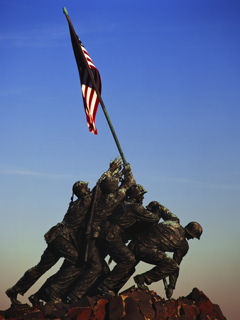 Iwo Jima Memorial things to see in Washington D.C. photo poster