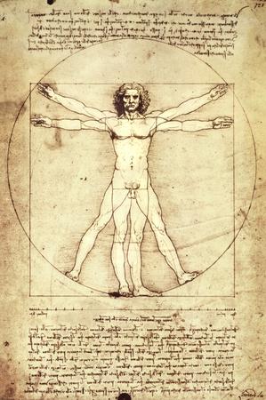 Vitruvian Man, c. 1492 Posters by  Leonardo da Vinci