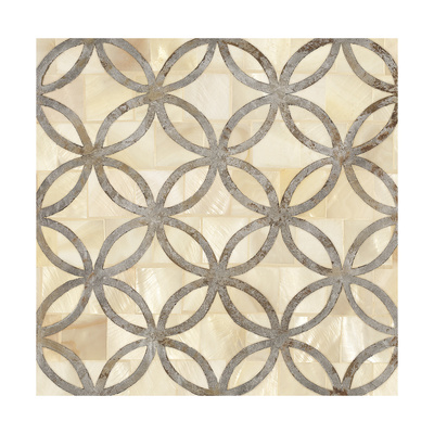 Natural Moroccan Tile 4 高品質プリント : ホープ・スミス