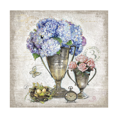 Vintage Estate Florals 3 Posters by Chad Barrett
