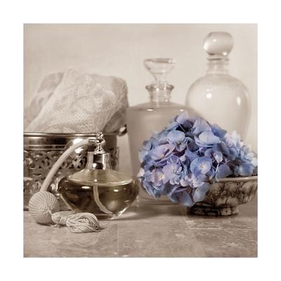 Hydrangea and Atomizer Art by Julie Greenwood