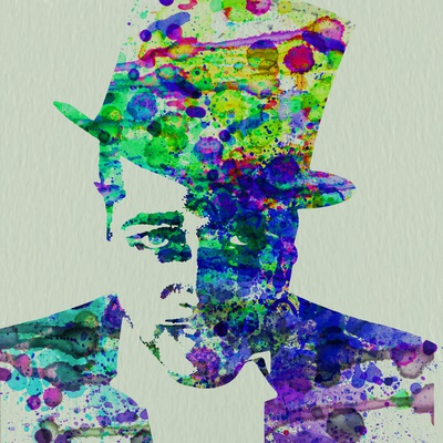 Duke Ellington Watercolor Prints by  NaxArt