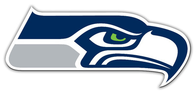 NFL Seattle Seahawks Vinyl Magnet Imán