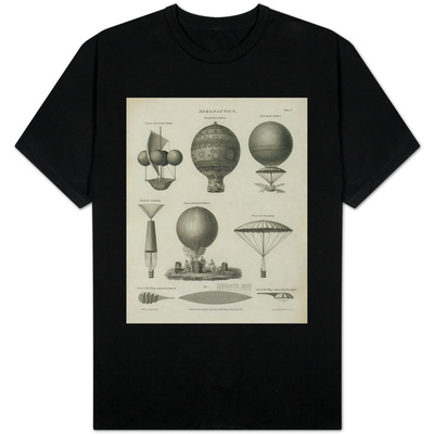 Aeronautics, Early Balloon Designs, c.1818 T-shirts