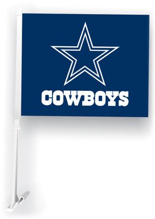 NFL Dallas Cowboys Car Flag Bandera