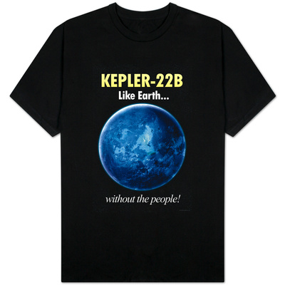 Kepler-22B Earth Without the People Shirts
