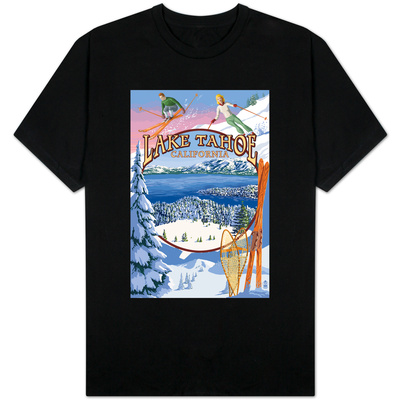 Lake Tahoe, CA Winter Views Shirts