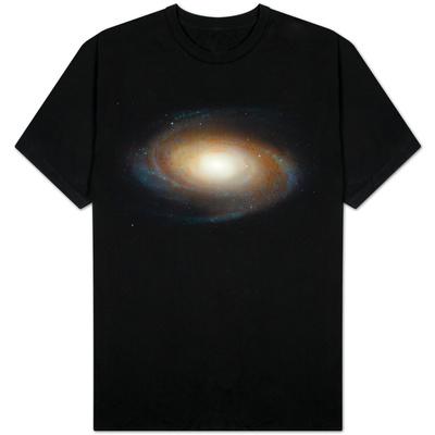 Hubble Photographs Grand Design Spiral Galaxy M81 Space Photo T-Shirt