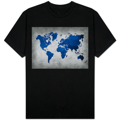 World  Map 10 T-shirts