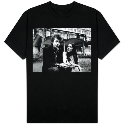 Bob Dylan Singer Songwriter with Joan Baez T-shirts