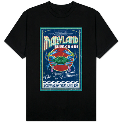 Baltimore, Maryland - Blue Crabs Shirt