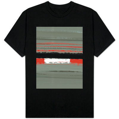 Abstract Red 4 T-Shirt