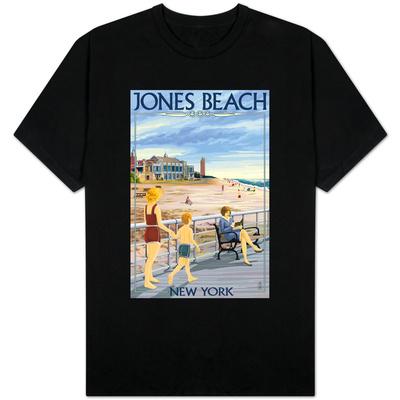 Jones Beach Scene, New York T-Shirt